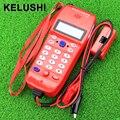 KELUSHI Alta Qualidade NF-866 Testador Cabo de Telefone Para Telefone de Telecomunicações, Check Telefone DTMF Caller ID de Detecção Automática