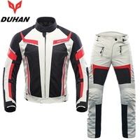 Free Shipping 1set Men S Cool Outdoor Jackets Motorcycle Jacket Racing Suits Cycling Race Coat Motocross