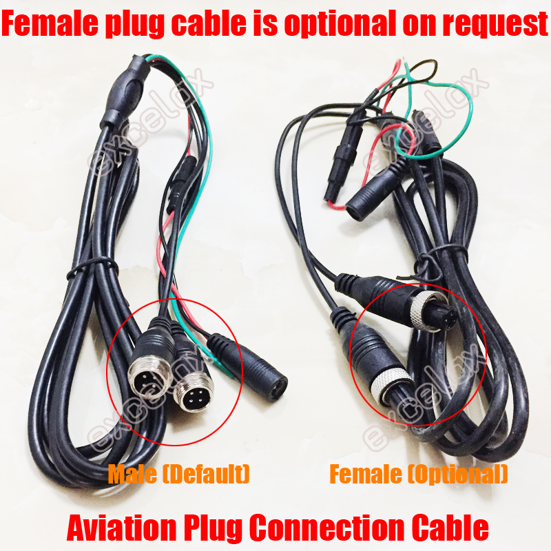 7-in AHD monitor cable 2