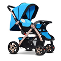 Baby Strollers 3 In 1 Carriage Prams Folded Baby Kinderwagen Luxury Landscape Carts Stroller GH266