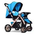 Carrinhos de bebê 3 Em 1 Carrinhos Carrinho De Bebê Kinderwagen Dobrado GH266 Paisagem Carrinhos Carrinho De Criança de Luxo