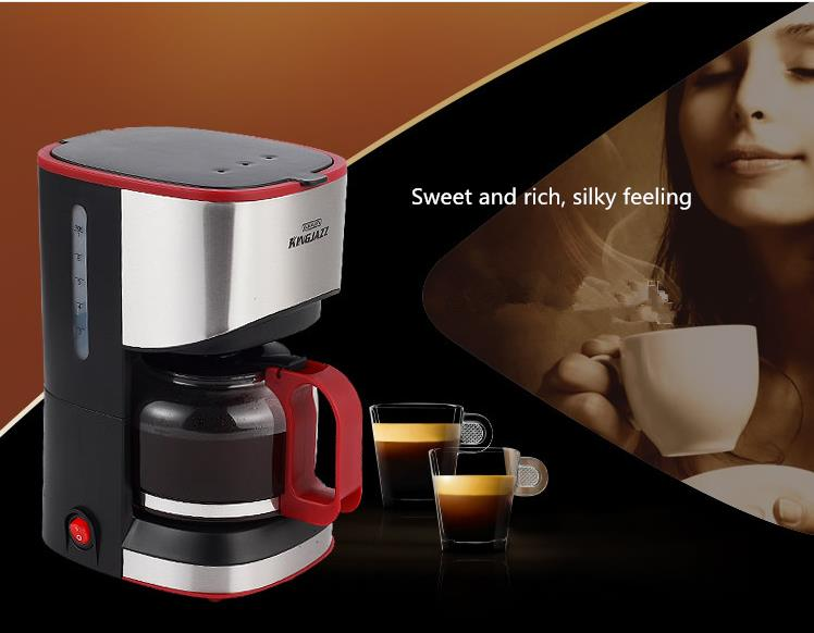 Coffee Machine Household Automatic Mini American Leaky