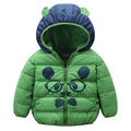 New Brand Cartoon Panda Winter Down Coat Child Short Winter Jacket for Girls Children's Clothing Baby Kids Down Jacket Parkas