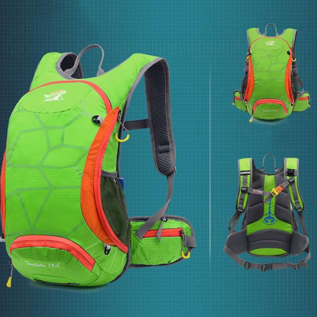 Nylon Waterproof Hiking and Cycling Backpack