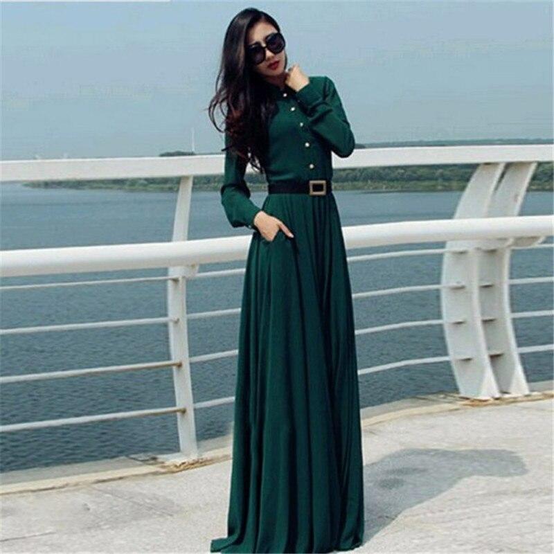 Новое Женское летнее сексуальное вечернее платье с длинным рукавом коктейльное длинное платье