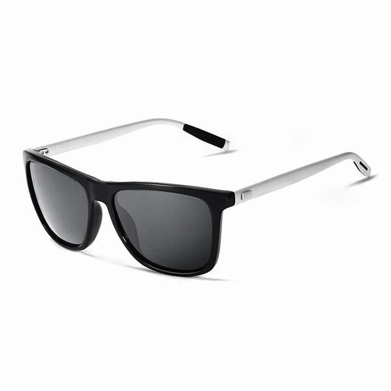 9892d2051e2 POLARSNOW Aluminum+TR90 Sunglasses Men Polarized Brand Designer Points Women  Men Vintage Eyewear Driving