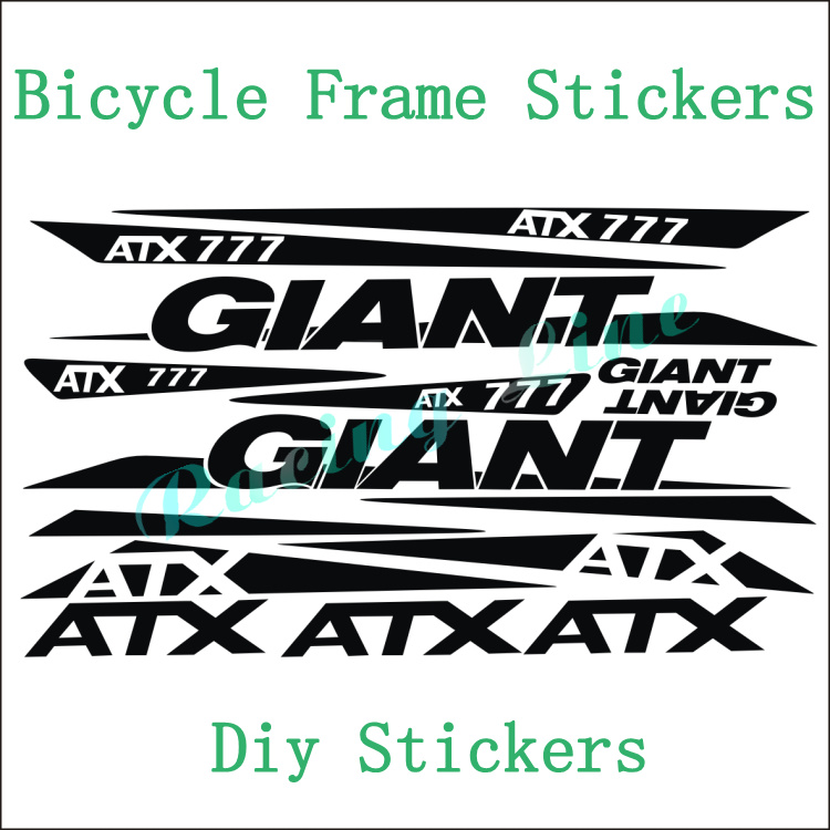 aliexpress giant atx777 motorcycle stickers bicycle giant bicycle frame