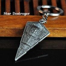 Star Wars Trek Keychain Men Trinket Anime Spaceship Battleship Key Chain Ring Car Keyring Chaveiro Jewelry Gift Souvenirs