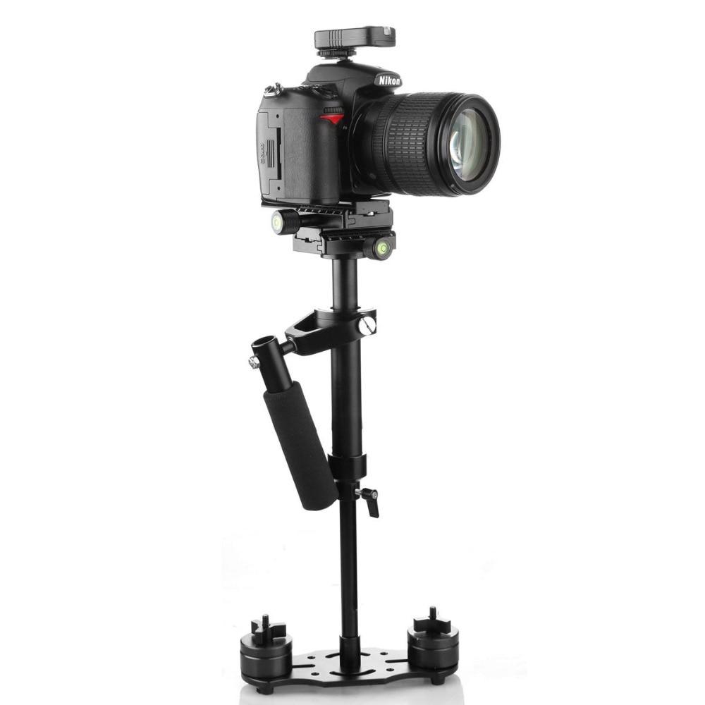 S40+ 0.4M 40CM Handheld Steadycam Stabilizer For Steadicam Canon Nikon GoPro AEE DSLR Video Camera 2016 s40 40cm mini handheld stabilizer steadycam steadicam for canon nikon dslr sony camera