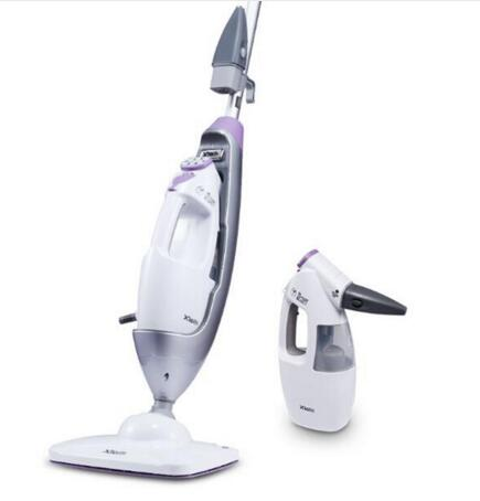 2 In 1 Handheld Steam Cleaner and Steam Mop Combo Comprehensive Decontamination Sterilization with 340ml Water Capacity 7688M