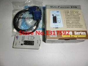 Image 2 - Il trasporto libero 100% origanil Più Nuovo RT809F LCD programmatore ISP + 10 adattatori + sop8 IC test clip + 1.8 VAdapter + TSSOP8/SSOP8 Adattatore