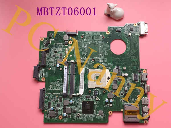 MBTZT06001 DAZR9HMB8A0 for ACER aspire TM8572G laptop motherboard with Intergreted S989 HM55
