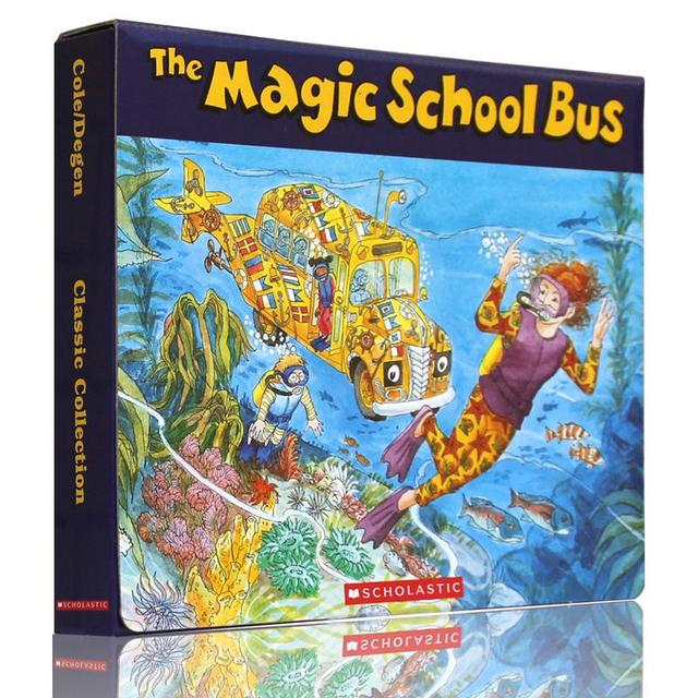 The Mag School Bus Painted Version Of Magic School Bus Book 6cd Set