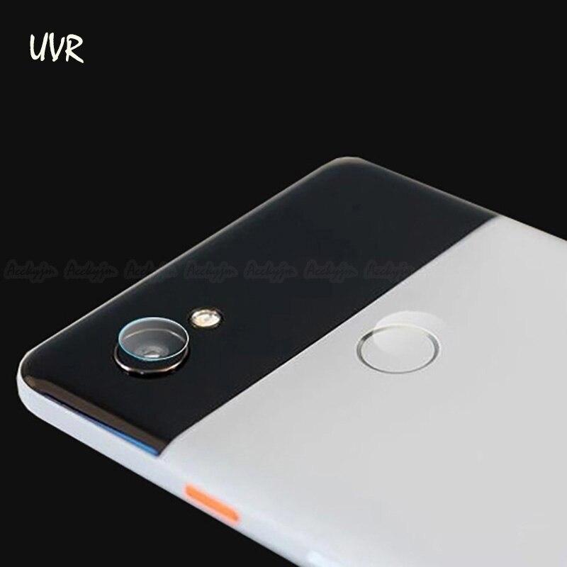 UVR 2PCS For Google Pixel 2 XL Camera Lens Tempered Glass For Google Pixel 2 XL 7H Soft Clear Camera Lens Screen Protector Film