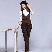 cotton overalls pregnant women Pregnant Bib Jean Fashion Denim Overalls Comfortable Maternity Clothes Big Size Denim