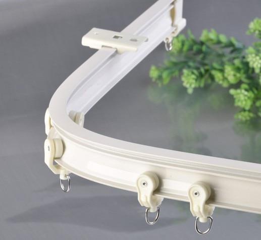 CUT2 Wall mount simple flexible plastic bead curtain rod 70 120cm-in ...