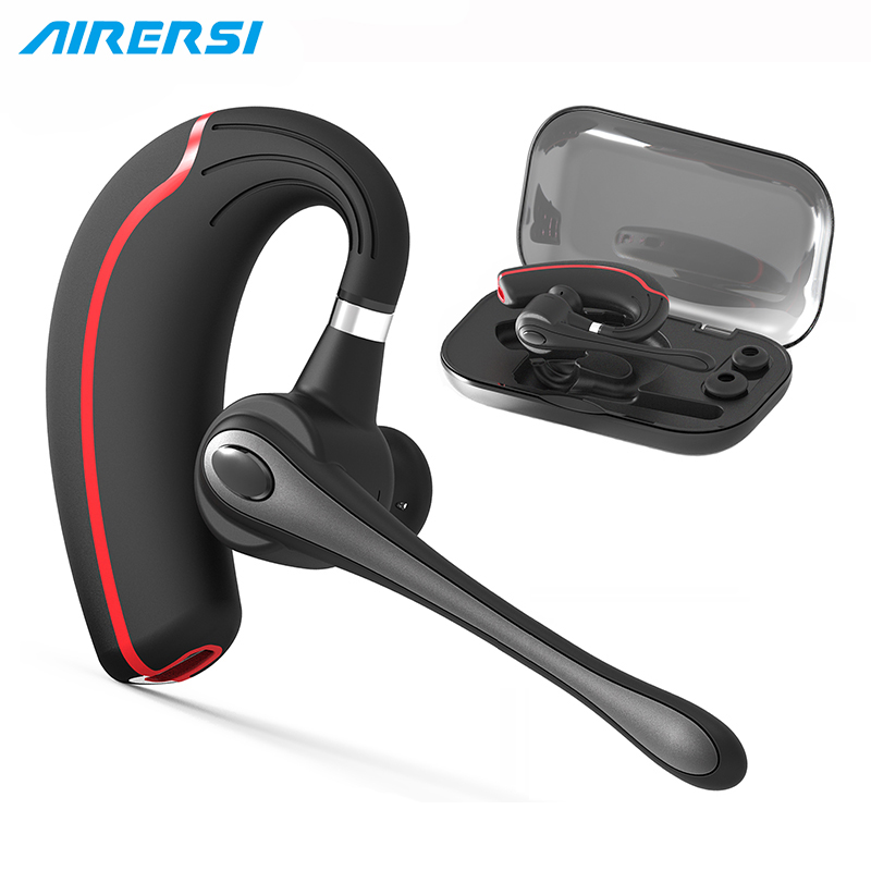 B1 Wireless Bluetooth Headset Stereo HandsFree Noise Reduction Bluetooth Earphone Headphone for Driving for iPhone and Android bluetooth earphone headphone for iphone samsung xiaomi fone de ouvido qkz qg8 bluetooth headset sport wireless hifi music stereo
