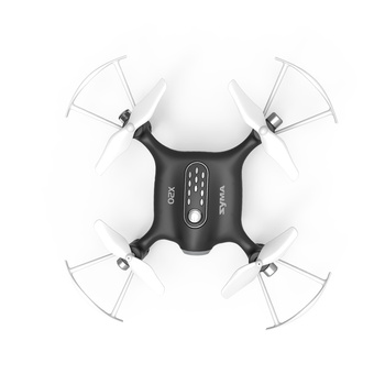Syma X20 Pocket Drone 2.4G Mini RC Quadcopter 4 Channel Headless Mode Altitude Hold Black Aircraft Toy For Boys