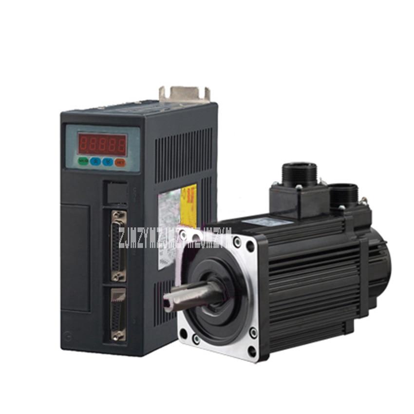 New AC servo motor drive Kits 1.5KW Servo System Servo Motor 30ST-M06025 AC 6N.M 22mm 2500rpm 220V 57 brushless servomotors dc servo drives ac servo drives engraving machines servo