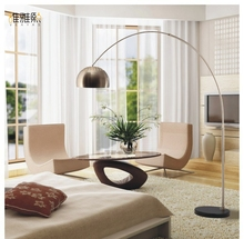 Stainless steel lamp factory direct wholesale lighting floor lamp fishing lamp LED e27