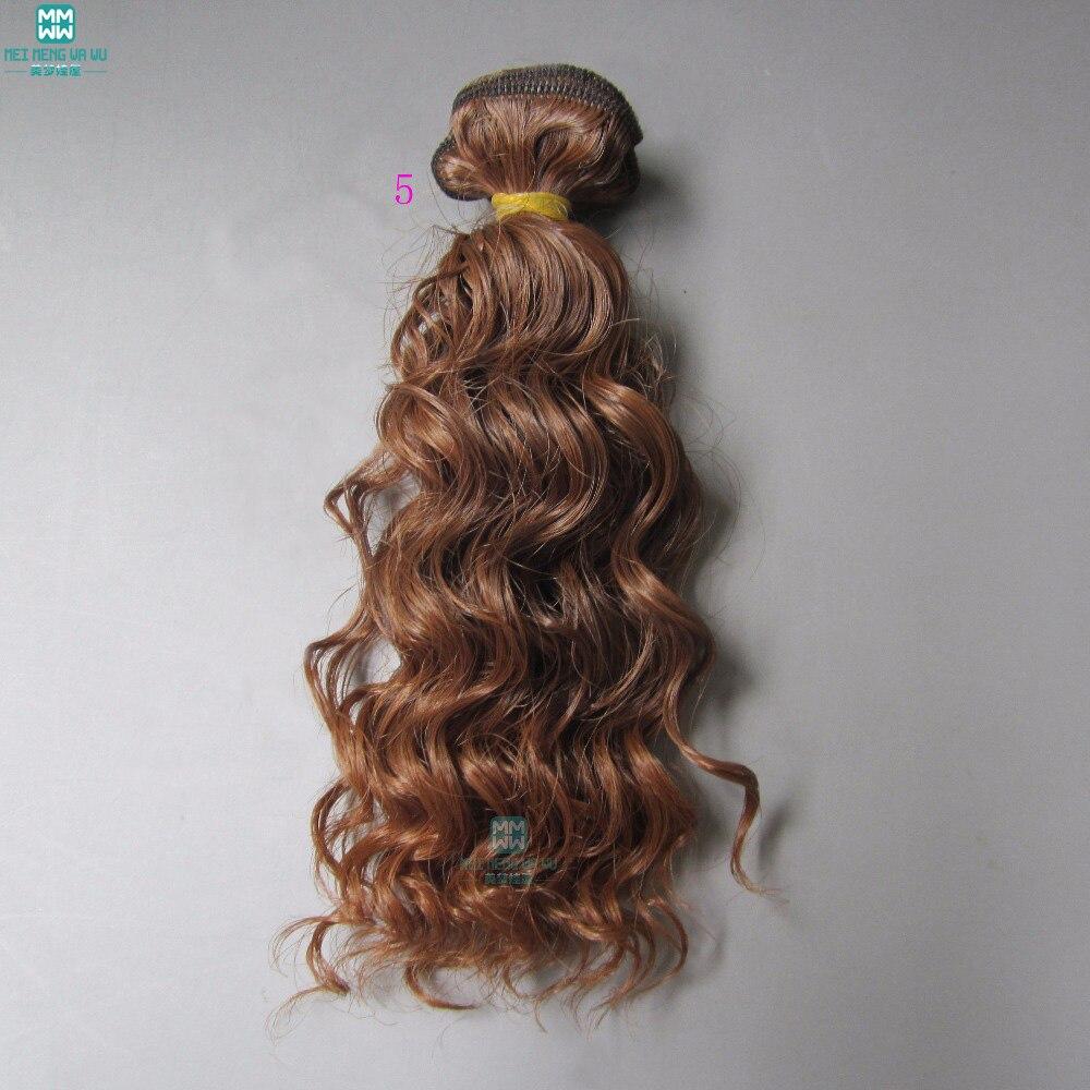 1pcs 15cm et 25cm * 100CM La laine d'imitation roule les cheveux pour - Poupées et accessoires - Photo 4