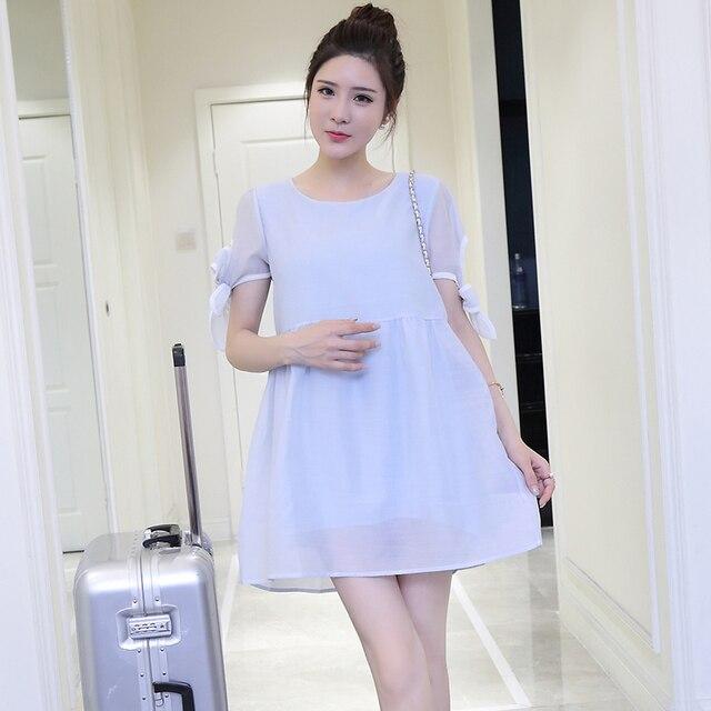 Blue Dresses for Pregnant Women