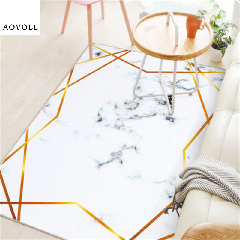 AOVOLL 2018 New Hot Sale Soft Carpets For Living Room Bedroom Kid Room Rugs Home Carpet Floor Door Mat Delicate Fashion Area Rug