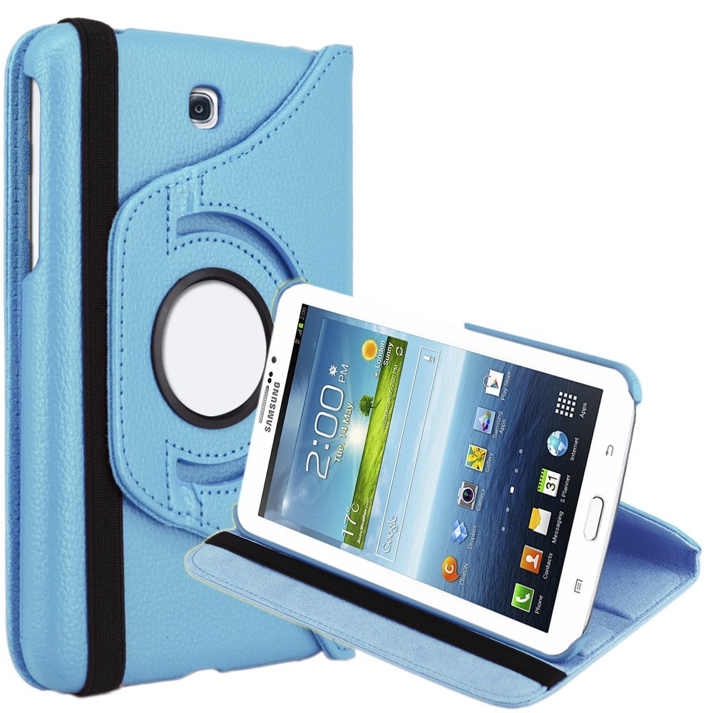 For Samsung Galaxy Tab 3 7.0 Case 360 Rotating Leather Stand Case Cover for Galaxy Tab 3 7.0 SM-T210 SM-T217 7-Inch P3200 P3210 рюкзак для ноутбука 17 3 case logic prevailer 217 полиэстер черный prev 217 black midnight