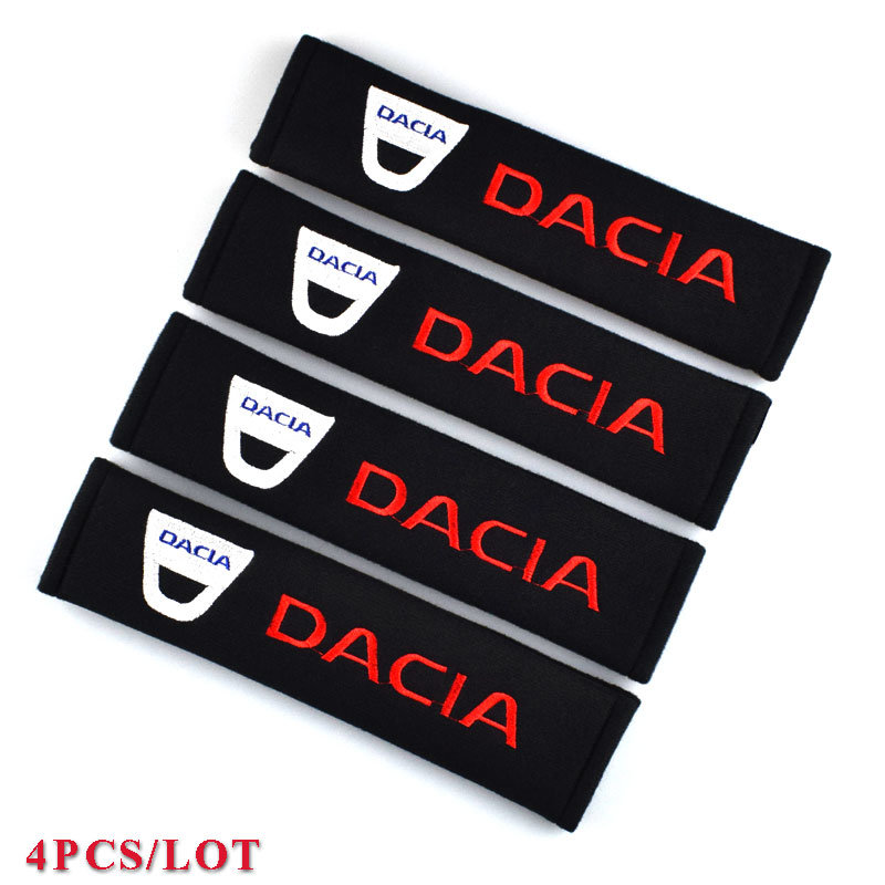 Excellent car styling car sticker all cotton for dacia duster logan sandero lodgy Mcv 2 Dokker accessories car-styling 4PCS/LOT
