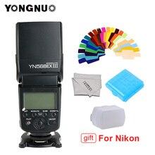 YONGNUO YN568EX III YN568 EX III bezprzewodowy TTL flash hss speedlite do canona 1100d 650d 600d 700d dla Nikon D800 D750 D7100