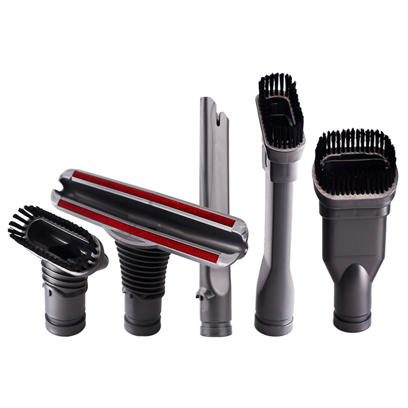 5PCS Suction Dust Brush Kit For Dyson V6 DC35 DC45 DC48 DC58 DC59 DC62 Vacuum Cleaner Parts Nozzle Brushes Head Crevice Tool