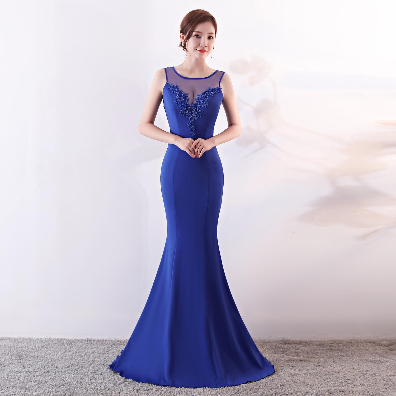 Partito Corzzet blu Senza Eleganti bianco Dispone Personaggio Donne  Clubwears Modo Di Il sapphire Aderente Famoso jujube Blu Maniche Appliques  Sirena Delle ... caeae2df3cd
