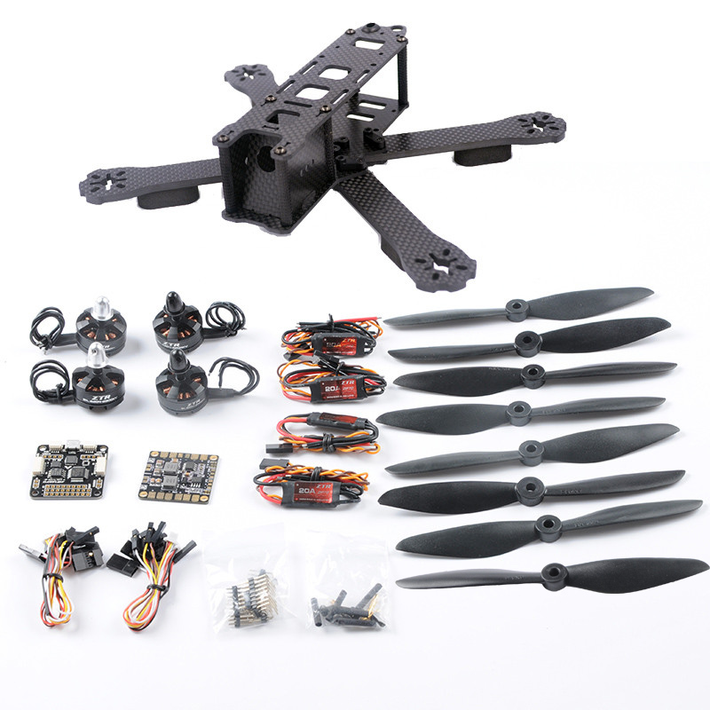 3K Carbon Fiber 220mm QAV220 QAV-X DIY FPV Racign Drone with 20A ESC 2300KV Motor F3 Flight Controller in Stock frame f3 flight controller emax rs2205 2300kv qav250 drone zmr250 rc plane qav 250 pro carbon fiberzmr quadcopter with camera
