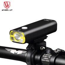 WHEEL UP Bike Light Cycling Front Lights Mountain Road Bike LED Light USB Headlamp Waterproof Night Cycling Accessories
