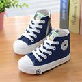 2016 New Fashion 4 Colors Casual Children Shoes Lace-up Boys Girls Canvas Sport Shoes Child Sneakers Size 24~34 Free Shipping