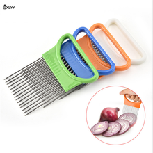 BXLYY 1pc Onion Fork Kitchen Gadget Stainless Steel Vegetable Cutter Tools Cooking Accessories knife Cuisine.7z