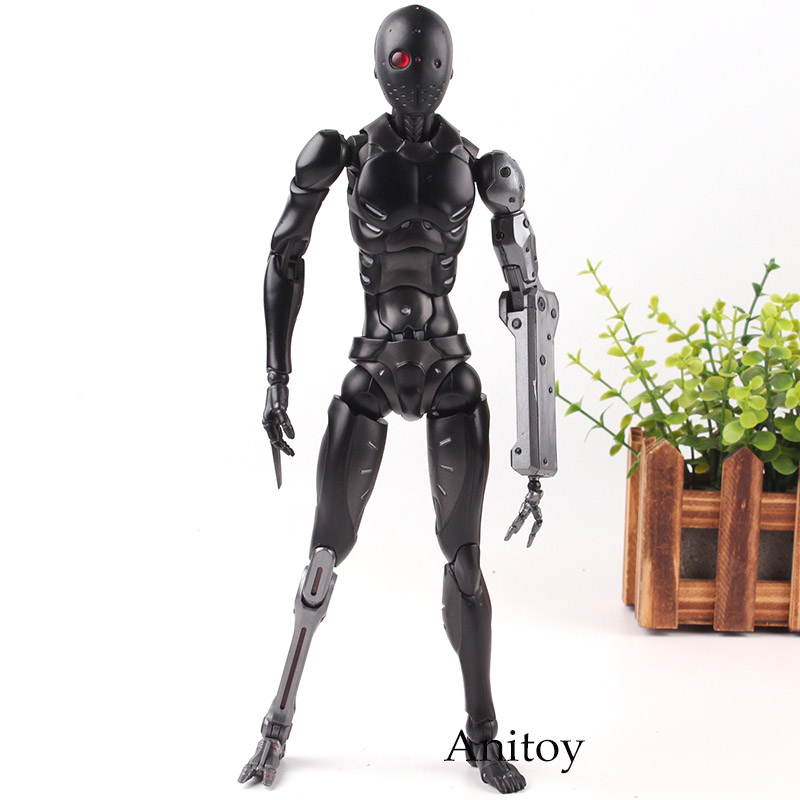 Heavy Industries Sentinel 1000Toys Synthetic Human Experimental PVC Action Toy Figures Collection Model Toys for Boys free shipping deus ex human revolution elena fedorova pvc action figures boys toys doll 18cm