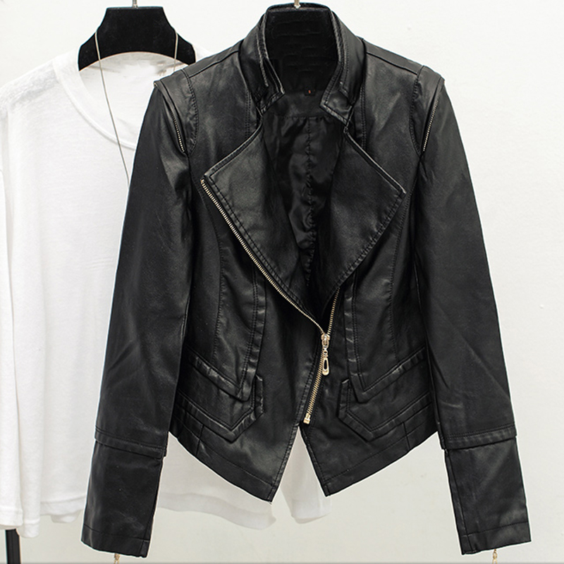 Female Brand Clothing Hot Fashion font b Women b font Autos Biker Air Leather font b