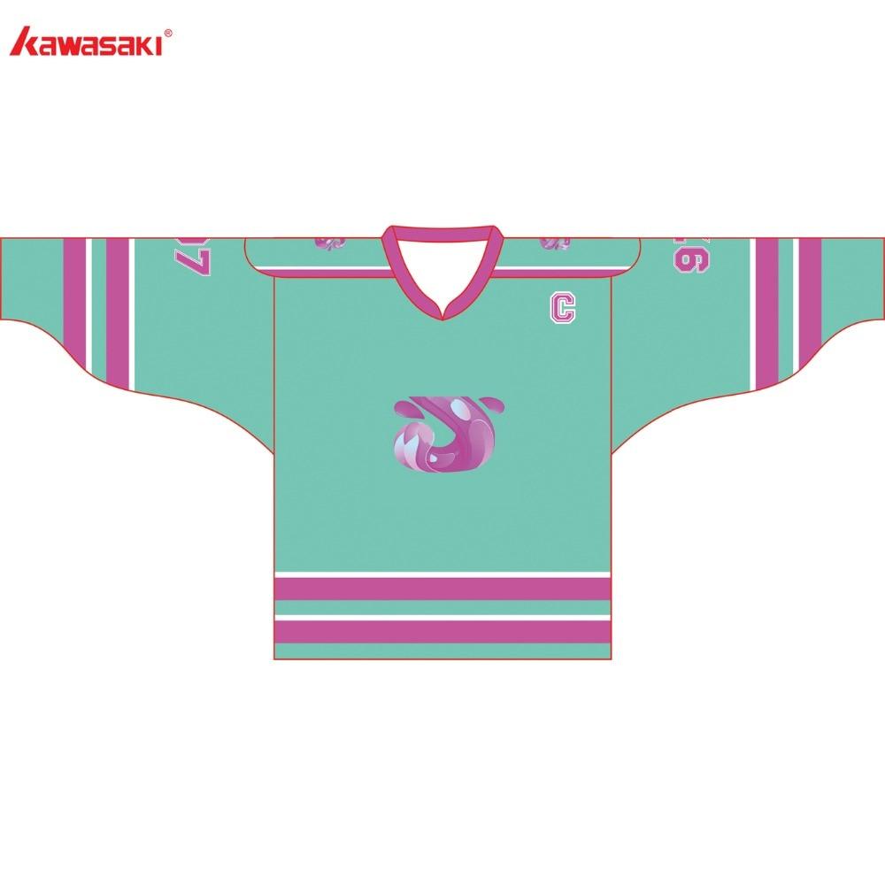 Kawasaki ապրանքանիշ Unisex Ice Hockey Jersey - Սպորտային հագուստ և աքսեսուարներ - Լուսանկար 1