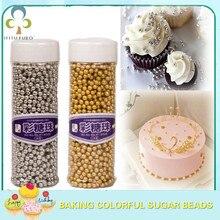 Point-Cake-Ice-Cream Decorative Sugar-Ball Beads Baking Color Golden Edible Pearl DIY