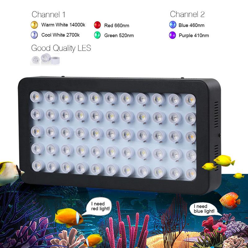 WIFI 165w Морський Акваріум Світлодіодне - Професійне освітлення - фото 3