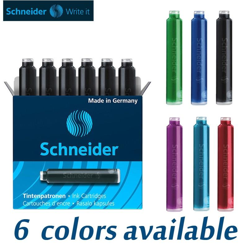 Schneider Ink Cartridges European Standard Pelikan Rotring  STAEDTLER Faber-Castell Universal