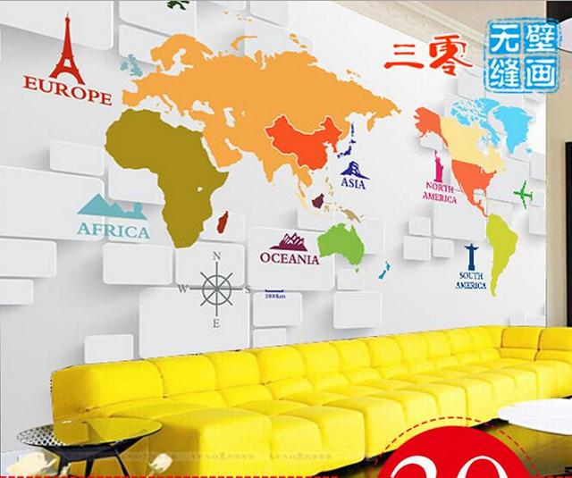 2015 1 sqm 3d nonwoven custom large mural ikea wallpaper world map 3d nonwoven custom large mural ikea wallpaper world map letter gumiabroncs Images