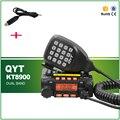 O Envio gratuito de Veículo 25 W/20 W VHF UHF Dual Band KT8900 QYT 200 Canais Transceptor de Rádio de Carro Móvel com Cabo