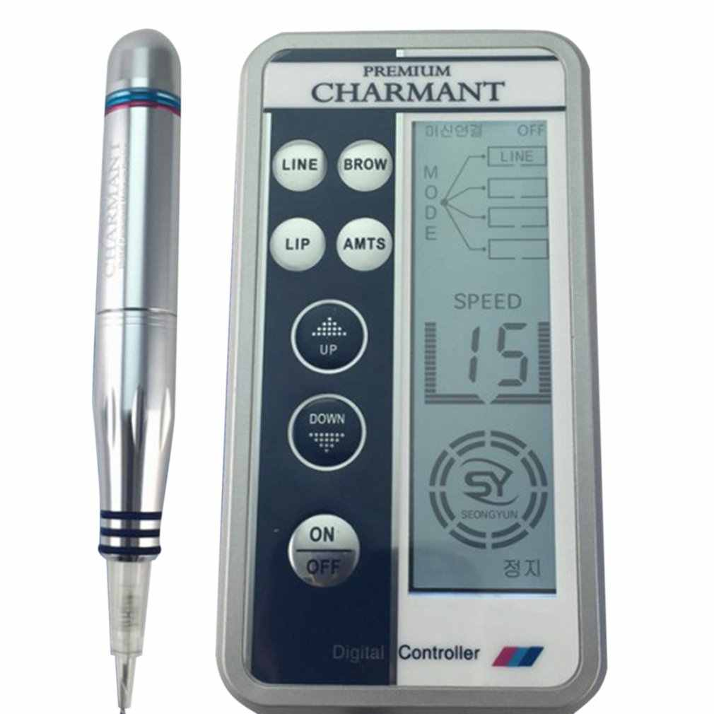 Charmant Semi-permanent Makeup Machine Kit For Eyebrow Tattoo Lip eyeliner MTS Microblading Pen Set  Eye Make up Beauty Care