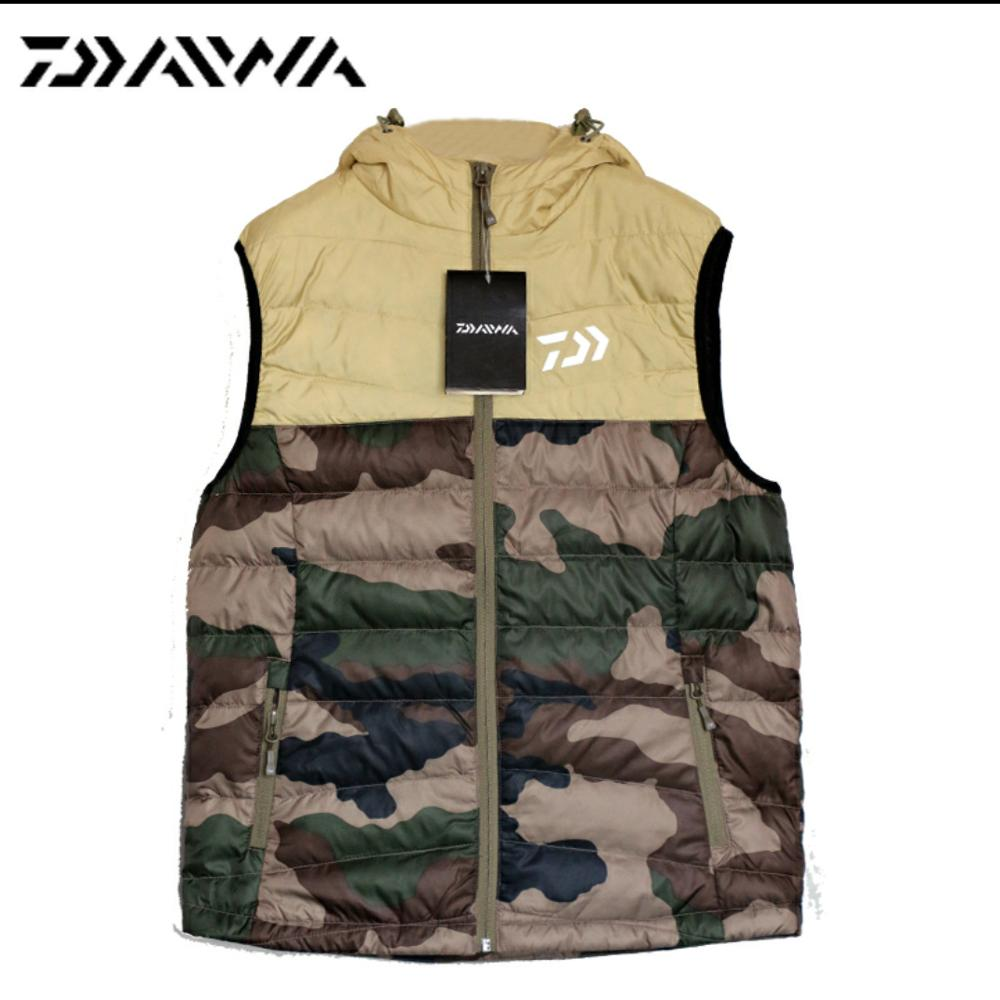 2017 NEW DAIWA Fishing clothes coat Cotton vest Keep warm Autumn And Winter DAWA thicken Breathable DAIWAS Free shipping