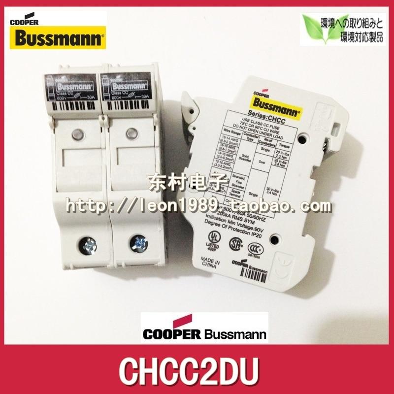 [SA] US Bussmann porte-fusible CHCC2DIU CHCC 2DU 600 V 30A porte-fusible-2 pcs/lot