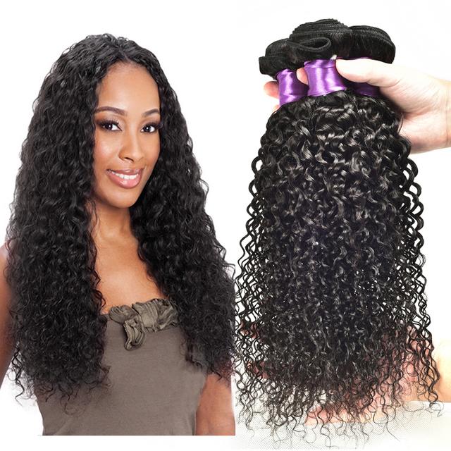 6a Brazillian Hair Deep Curly Virgn Hair Micro Bead Hair Extensions