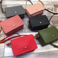 New Big Capacity Genuine Leather Casual Flap Bag Day Clutch Bag Ladies Shoulder Bag Purse Crossbody