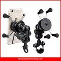 Motocicleta Aperto Braçadeira Telefone Celular Stand Holder Suporte de Montagem com Tomada do Carregador USB para o iphone e Outros Smartphones Samsung